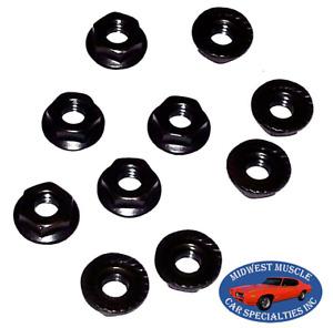 Mopar Chrysler Dodge Plymouth Factory Correct Dash Firewall 1/4-20 Nuts 10pcs CQ
