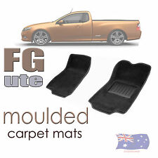To suit FG Ford Falcon Sedan Ute 3D Moulded front Car Floor Mats 2009 - Current