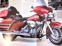 1986 Harley Davidson Electra Glide Brochure, Original 86 Motorcycles Original