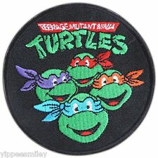 Teenage Mutant Ninja Turtles Cartoon Kids Children Iron on Patch Jacket #0362
