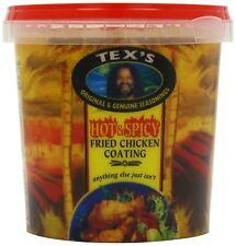 Tex's hot & spicy poulet frit revêtement 800g (pack de 6)