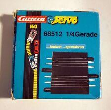 Carrera Servo 160 / Transpo Trucker 1/4-Gerade mit Spurrille 68512