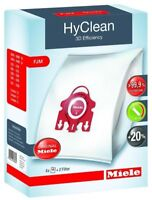 1 X BOX MIELE GENUINE FJM HYCLEAN 3D EFFICIENCY VACUUM BAGS, YOUNG STYLE