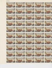 Full Sheet - 50 Stamps MNH - Scott # 1207 - 1962 4c Winslow Homer