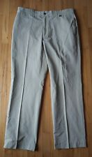 Victorinox Swiss Army Mens Chino Pants 38x34 Cotton/Poly Cargo Trouser Khakis