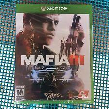 Mafia III Xbox One Sealed Microsoft 2016 NIP