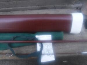 OLD RARE VINTAGE FENWICK MINT TUBE FF 755 3 OZ AFTMA FLY LINE COLLECTOR GRADE NR