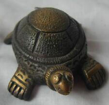 Brass metal turtle statue hand crafted beautiful tortoise figurine home decor