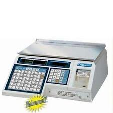 Cas Lp-1000N Label Printing Scale Legal for Trade 30 x 0.01 lb