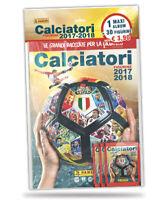 Calciatori 2017-2018 Album Vuoto + 6 Bustine Figurine Panini