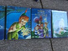 LOT DVD PETER PAN / PETER PAN 2 / FÉE CLOCHETTE