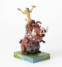 Disney Traditions Timon & Pumba Hakuna Matata Figure by Jim Shore NEW  27340
