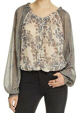 NEW FREE PEOPLE Hendrix Boho vintage inspired Blouse top FITS L-XL $108