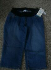 Oh Baby by Motherhood Maternity Jean capri's, under belly, sizes S or XL, NWT