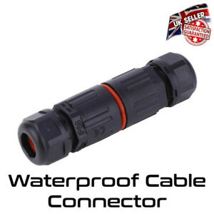 Waterproof Cable Connector Joint Outdoor IP68 Electrical Flex Cable Water Proof