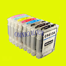 8 compatible refillable cartridge auto reset for HP38 HP 38 B8850 B9180 pigment
