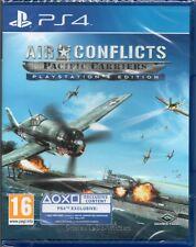 Air Conflicts: Pacific Carriers Juego Ps4 ~ Nuevo / Sellado