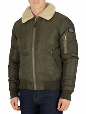 Schott Men's Pilote Fur Collar Padded Bomber Jacket - New Tags Size: X LARGE