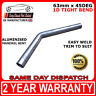 """2"""" 1/2 (63mm) 45 Degree Tight 1D Aluminised Exhaust Mandrel Bend - SMOOTHFLOW"""