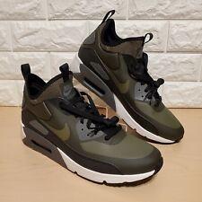 Nike Air Max 90 Ultra Mid Winter Mens Size 10.5 Sequoia Medium Olive 924458-300