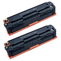 2pk Compatible CF210A Black Toner For 131A LaserJet Pro 200 M251n M251nw M276n