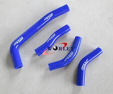 Honda CRF250R CRF250 2010 2011 2012 2013 10 11 12 13 silicone radiator hose BLUE