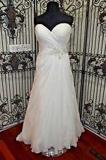 1049W CALLISTA BALI IVORY SZ 20 $1197 FORMAL  NEW WEDDING GOWN DRESS
