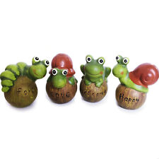 Ceramic Outdoor Garden Statues Decoration Small Animals Lawn Ornament