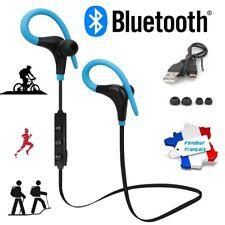 Bluetooth écouteurs sans fil Oreillette Sport Footing Stéréo Running + câble usb