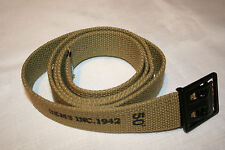 US WW2 enlisted mans trouser belt repo