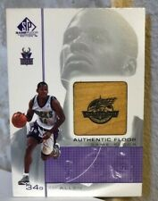 2000-01 SP Game Floor Authentic Floor #RA Ray Allen All-Star 2001 Bucks