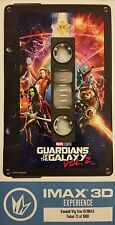 Guardians of the Galaxy Vol 2 Collectible IMAX 3D LE Tickets GROOT - CHRIS PRATT