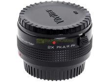 Moltiplicatore di focale Vivitar MC Tele Concerter innesto Pentax KA.