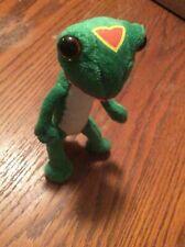 Geico Gecko Green Ins Standing Lizard Promo Doll Plush 7 in.