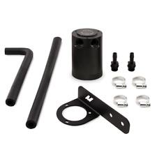 Black PVC Side Baffled Oil Catch Can Kit For 2016 Honda Civic 1.5L Turbo