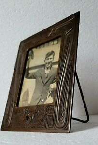 Original Rare Tiffany Studios Picture Photograph Frame Chinese Pattern
