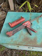 Hilti Hdm500 Hdm 500 Red Cartridge Adhesive Epoxy Gun w/ Red & Black Insert