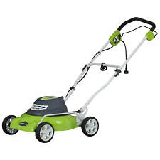 Greenworks 25012 Corded Electric 12 Amp 18-Inch Lawn Mower