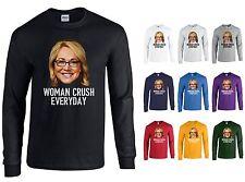 WOMAN CRUSH EVERYDAY Doris Burke Drake Night Basketball LONG SLEEVE Shirt - NEW