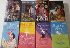 Karen Fox - 8 Romance books ~Impractical Magic, Grand Design -author autographed
