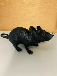 FAKE RUBBER RAT SQEECK WHEN YOU SQUEZE IT !!!