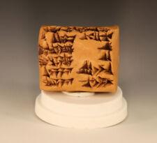 Mesopotamian Cuneiform Clay Writing Tablet Akkadian Nippur Iraq