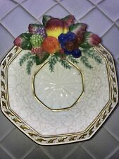 Fitz and Floyd Venezia Fruit Handcrafted China Plate