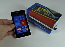 Boxed New Condition Nokia Lumia 520 - 8GB - Black (Unlocked) Smartphone