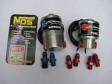 NOS/NX/ZEX/HOLLEY/NOS SNIPER CHEATER NITROUS+FUEL SOLENOIDS 250HP W/FITTINGS-NEW