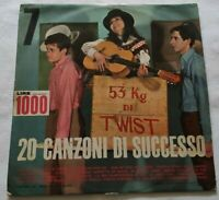 20 SUCCESSI DEL SECOLO N. 7 LP VARIOUS 33 GIRI VINYL ITALY TEXAS 07 EX/NM