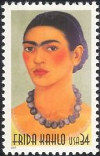 USA 2001 Frida Kahlo/Art/Painter/Artists/Paintings/Portraits/People 1v (b4035j)