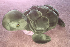 "24"" x 14"" Chosun International Green Turtle Plush - EUC"