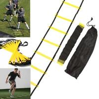 6/8/10/12 Rung Agility Speed Training Ladder Footwork Fitness Football Exercise