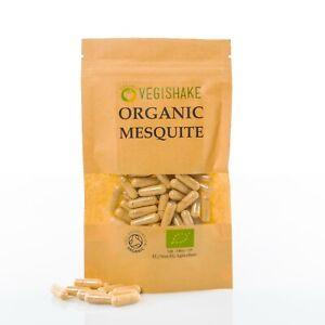 Organic Mesquite Capsule HPMC Calcium Magnesium Potassium Iron Zinc Vegan Kosher